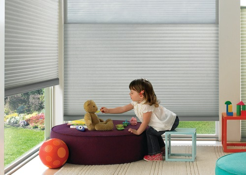 Child Safety Window Covering Features